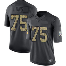 Men's #75 Kyle Limited Black 2016 Salute to Service Jersey 100% stitched(China (Mainland))