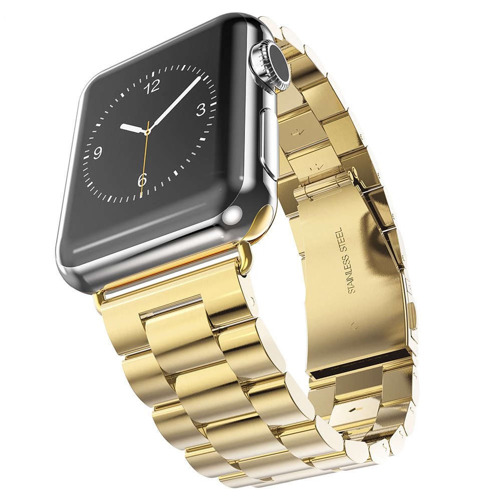 Hoco Watch Band Stainless Steel Watchband with Safety Folding Clasp for Apple Watch 38mm(China (Mainland))