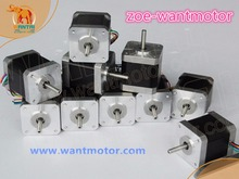 Buy USA free shipping!10pcs Nema 17 wantai stepper motor 42BYGHW811 0.48N.m 2.5A 3D printer Engraving Machine for $112.10 in AliExpress store