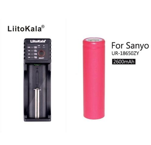 2016 liitokala lii-100 Charger for 18650 26650 16340 18500 AA NiMH Battery Charger+lii100 for Sanyo 2600mah(China (Mainland))