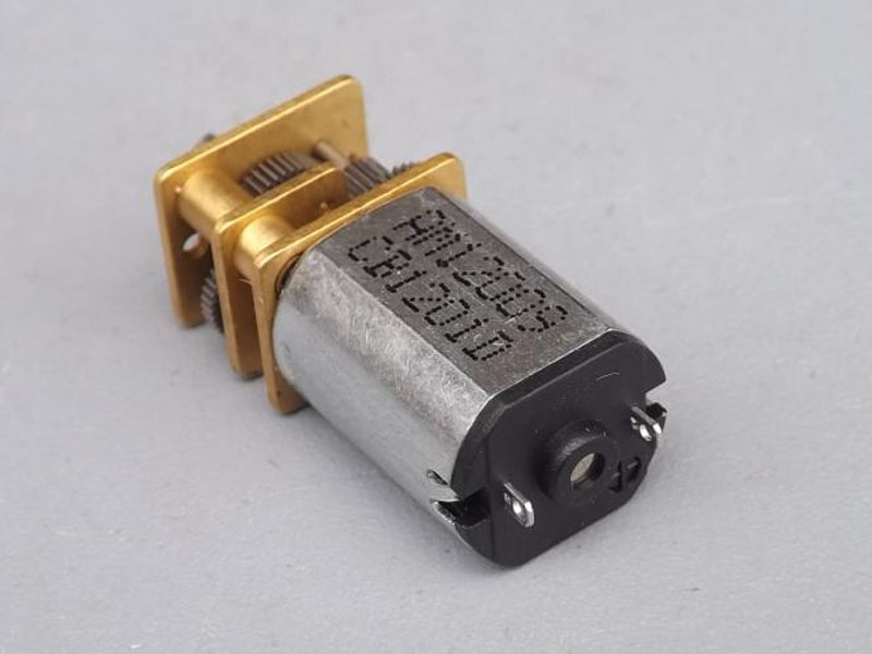 3 6V N20 micro DC gear motor with DIY metal gear for precision robot and model