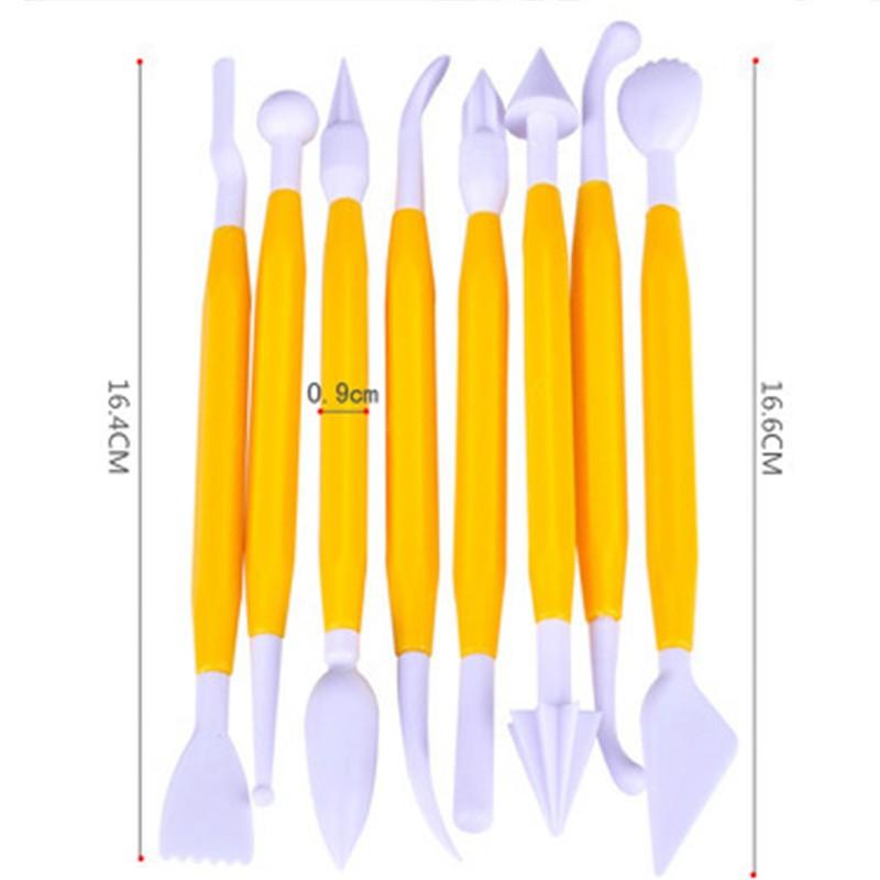 8PcsSet-Flower-Sugarcraft-Modelling-Tools-Plastic-Fondant-Cake-Decorating-For-Kitchen-Accessories-Random-Color-HG0377