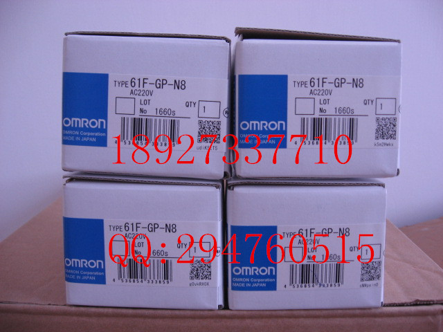 [ZOB] Supply of new original omron Omron level switch 61F-GP-N8 AC220V 8 feet(China (Mainland))