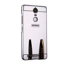Buy New Mirror Plating Metal Frame + Acrylic Protector Back Cover Case Lenovo Vibe K5 K5Plus K5note Mobile Phone Housing for $2.92 in AliExpress store