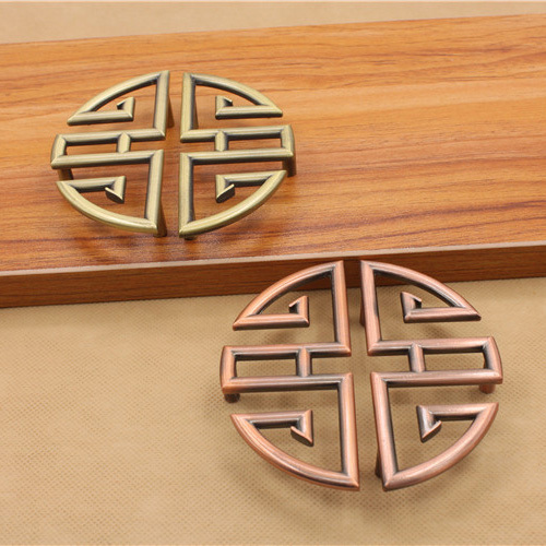 64mm Chinese Antique Round Zinc Alloy Drawer Knobs Cupboard Handles Circle Pulls Classic Furniture Accessories<br><br>Aliexpress