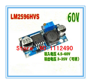 10PCS DC-DC LM2596HVS LM2596HV Adjustable Step Down Buck Converter Power Module(China (Mainland))