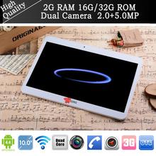 N9106 10″ Tablet pc andriod 4.4 Quad Core MTK6582 phone call 3G Dual Sim 2GB RAM 16G/32G wifi Bluetooth GPS pad notebook 2+5MP