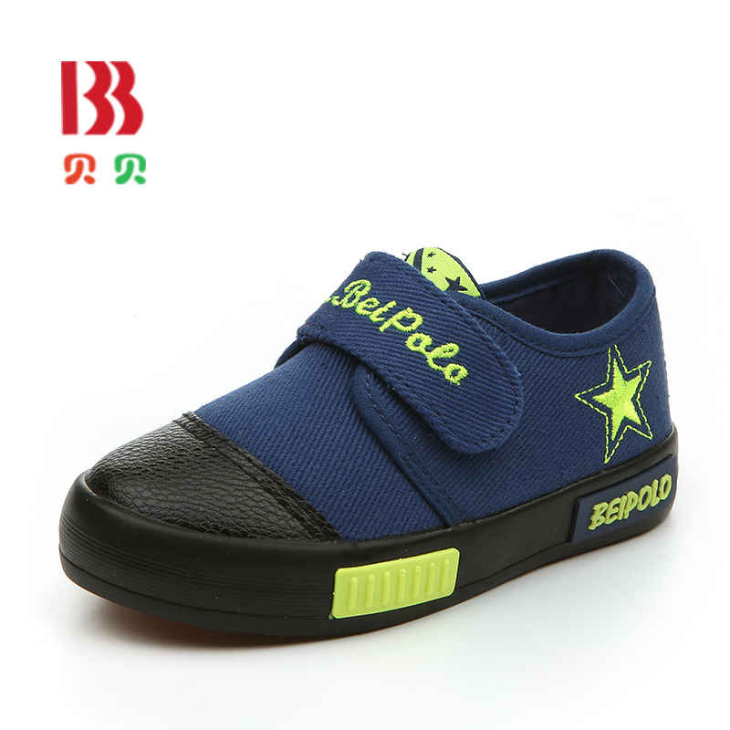 Spring Canvas Children Shoes Baby Boys Shoes Slip-on Casual Single Shoes Fashion Sports Shoes Kids Girls Sneaker 6855(China (Mainland))