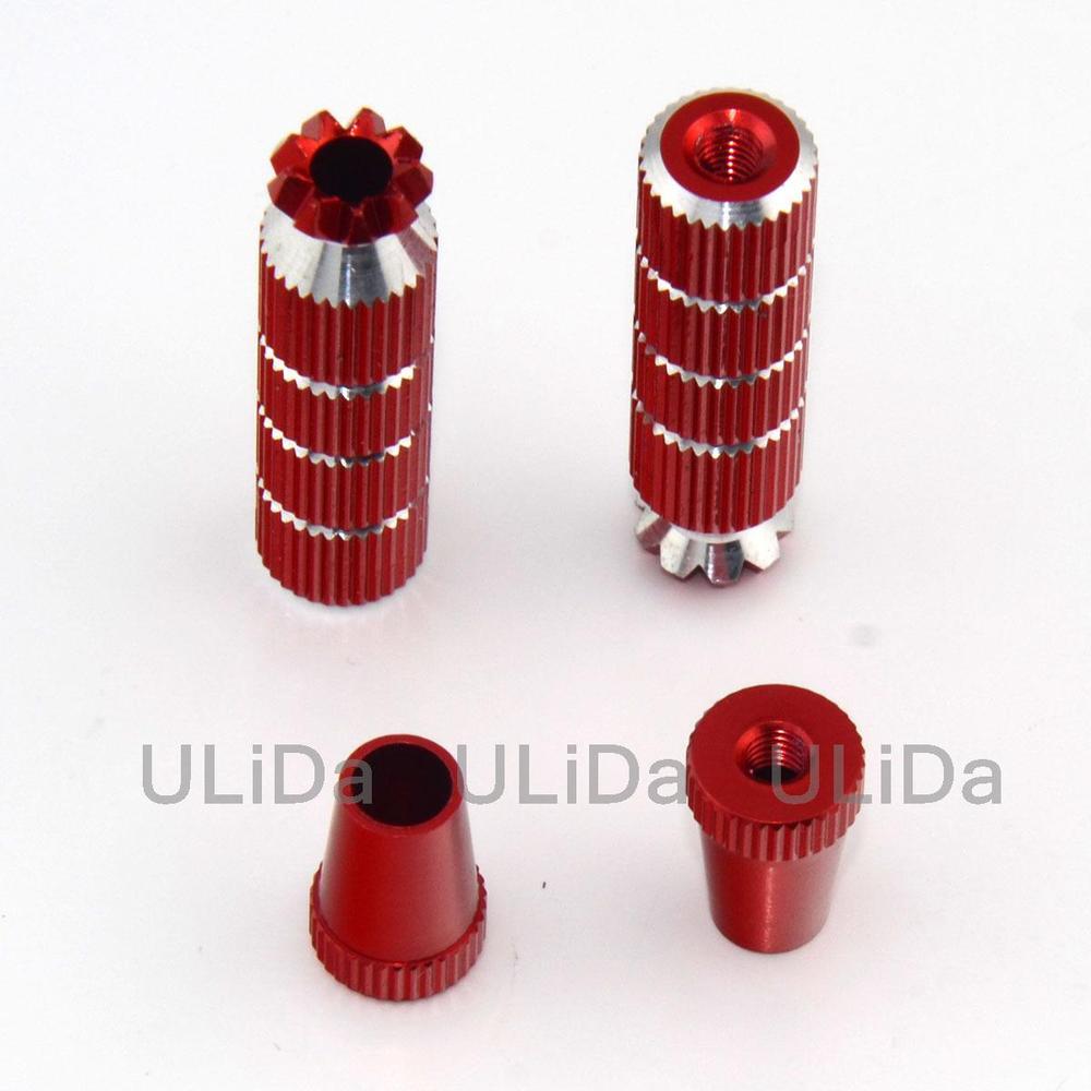 New Long M3 Thumb Stick Transmitter CNC Aluminium Alloy 2PCS Gift(China (Mainland))