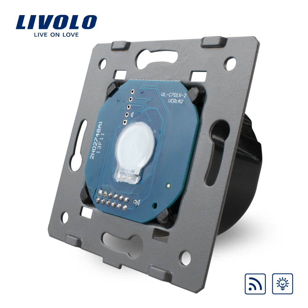 Livolo EU Standard Wall Light Remote Touch Dimmer Switch Without Glass Panel, 110~250V ,VL-C701DR(China (Mainland))