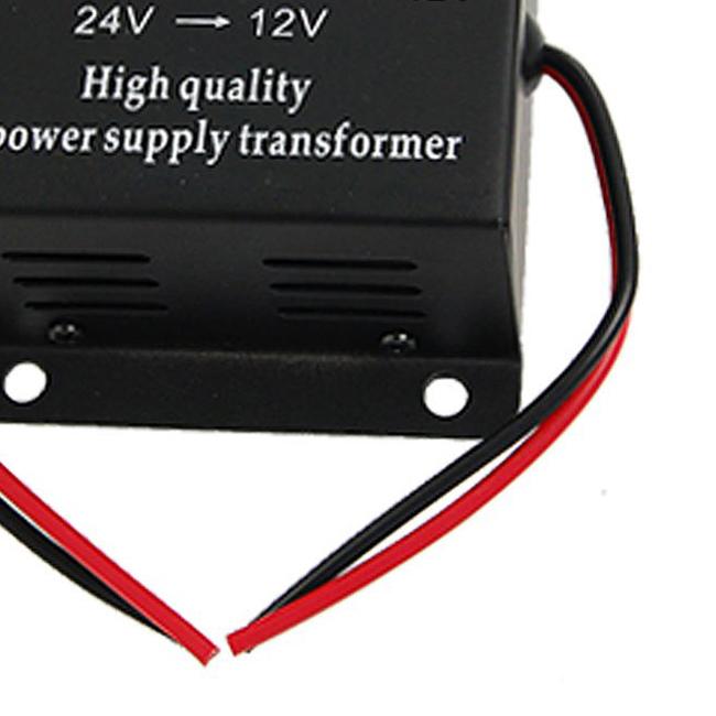 Fs горячая 5а dc 24 в до 12 в автомобилей силовой трансформатор конвертер-gold
