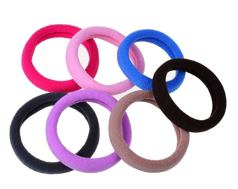 1PCS Women Hair Accessories Candy Color Hair Band Girl Hair Rings Summer Style Headband Gum for Hair Hairband 2015 New Hot Sale(China (Mainland))