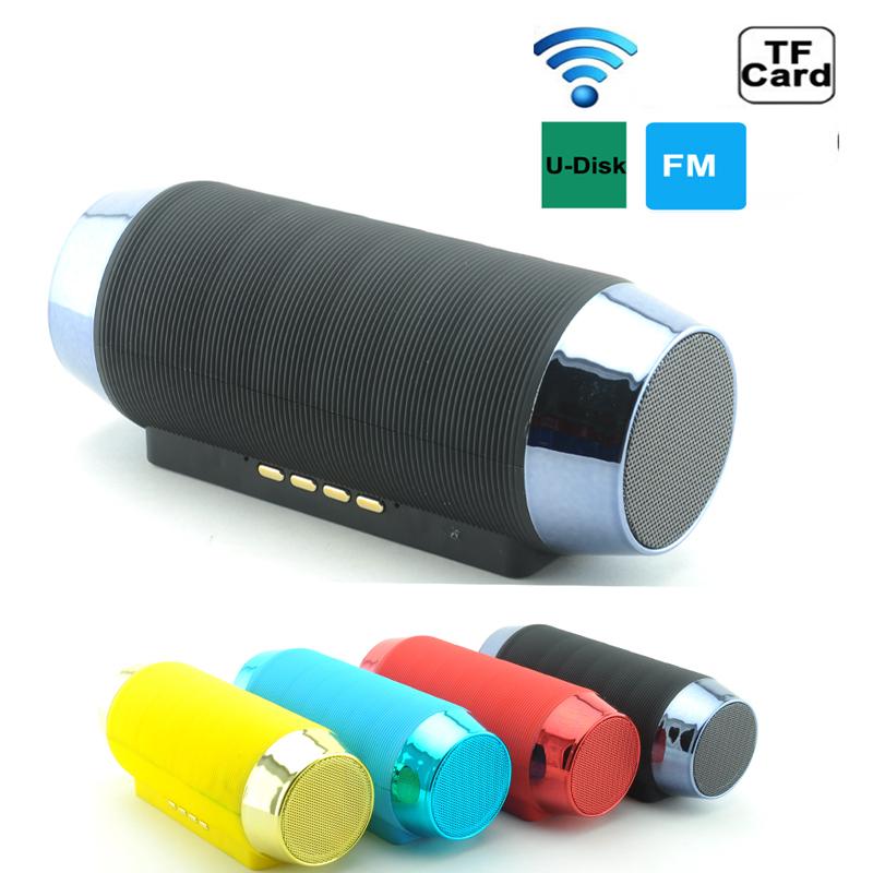 Wireless hifi bluetooth speaker double subwoofer for Haut parleur wifi exterieur