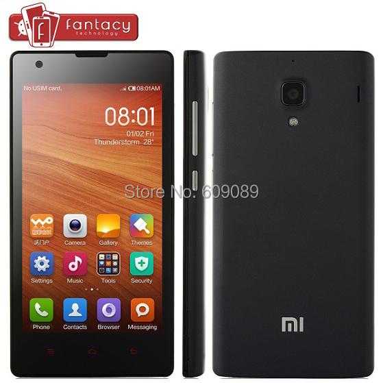 Original Xiaomi Red Rice 1S WCDMA 3G Qual-comm MSM8228 Quad Core Android 4.3 Phone Hongmi Redmi 1S 1280*720P IPS 4.7'' IPS GPS(China (Mainland))