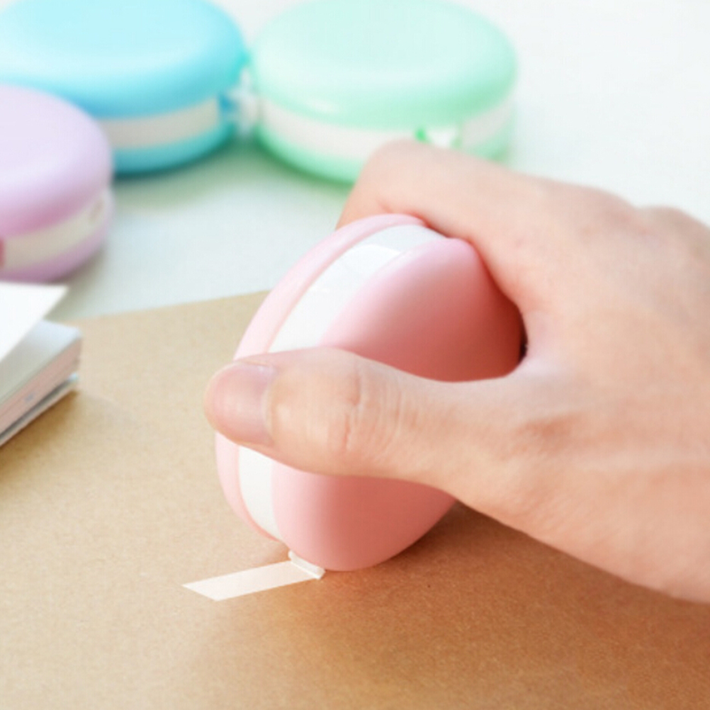 Creative Correction Tape Fluid Macaroon Roller White Office Study Tool Korea Stationery Kawaii Decoration 1PC 8M