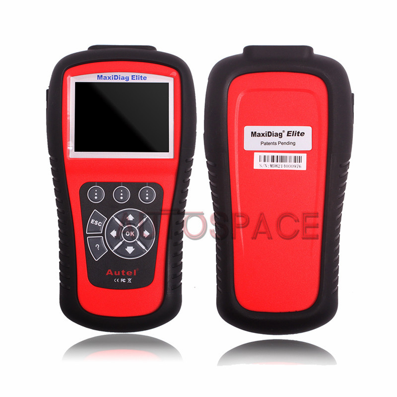 High Quality 100% Original AUTEL MaxiDiag Elite MD802 4 System + DS model MD 802 (MD701+MD702+MD703+MD704) Auto Code Reader(China (Mainland))