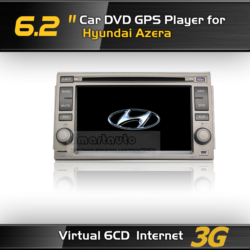 Автомобильный DVD плеер OEM 3G 6 CD, 6,2 DVD GPS Azera iPod BT rds, FM : dvb/t,  3G автомобильный dvd плеер oem dvd chevrolet cruze 2008 2009 2010 2011 gps bluetooth bt tv