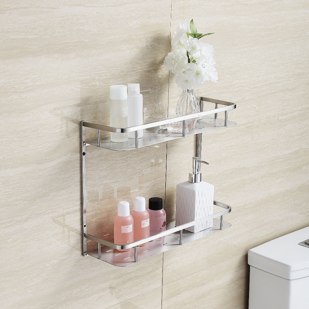 Popular Brushed Nickel Shower Shelf Buy Cheap Brushed
