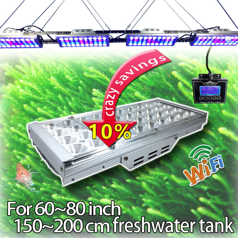 Fish in aquarium cycle - Dsuny Freshwater Tank Programmable 4 Channels Dimmable Led Light Intelligent Wifi Remote Control Sunrise Sunset Lunar Cycle