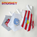 3pcs set Cotton newborn Baby bibs bandana bibs infant Toddler Towel bebes baberos triangle Scarf boys
