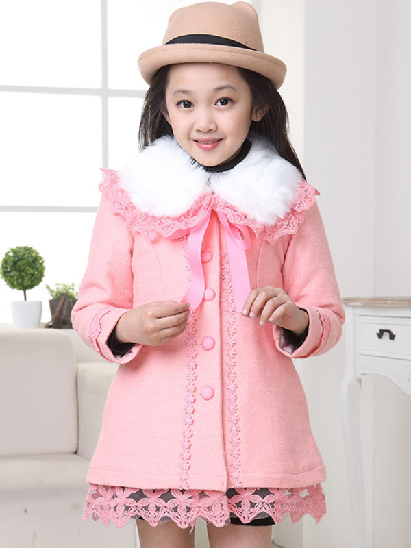 2016 Winter New Item Baby Girls Fashion Denim Jacket Girls Short-style Bow-print Denim Outerwear Jacket Child Denim Coat(China (Mainland))