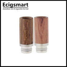 Wooden drip tip Wood Stainless steel 510 Drip tips for RBA RDA vaporizer mod e cigarettes