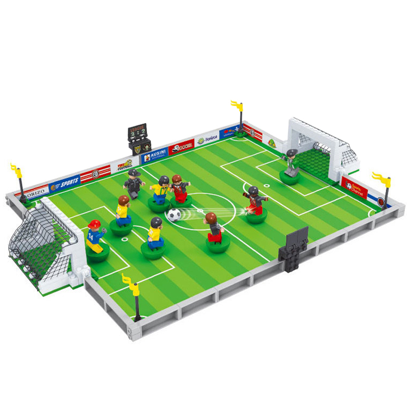 World Cup Euro Football Game Ausini Sports Building Block Educational Toys Kids Birthday(China (Mainland))
