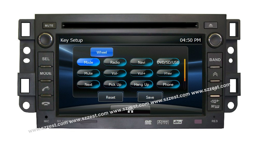 ZESTECH DVD wholesales 2 Din Touch screen Car Dvd for Chevrolet EPICA LOVA CAPTIVA dvd gps with radio audio navigation system(China (Mainland))