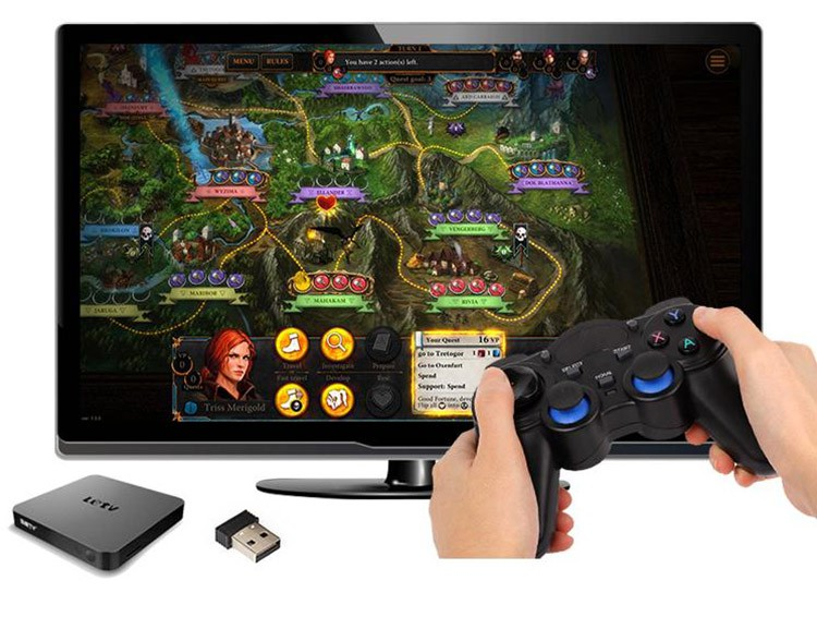 2.4G Gamepad Android Controllers Wireless Gamepad Joystick Android Controller for Tablet PC Smart TV Box for Samsung Xiaomi (5)