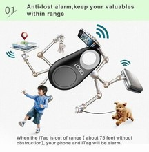 New Sale Mini Wireless Anti Lost Alarm Bluetooth Smart Portable Anti Lost GPS Tracking Find Your Key/Mobile Phone/Wallet/Child(China (Mainland))