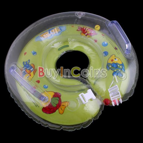 New Baby Aids Infant Pool New Born Baby Swimming Neck Float Ring Safety US AS #4122(China (Mainland))