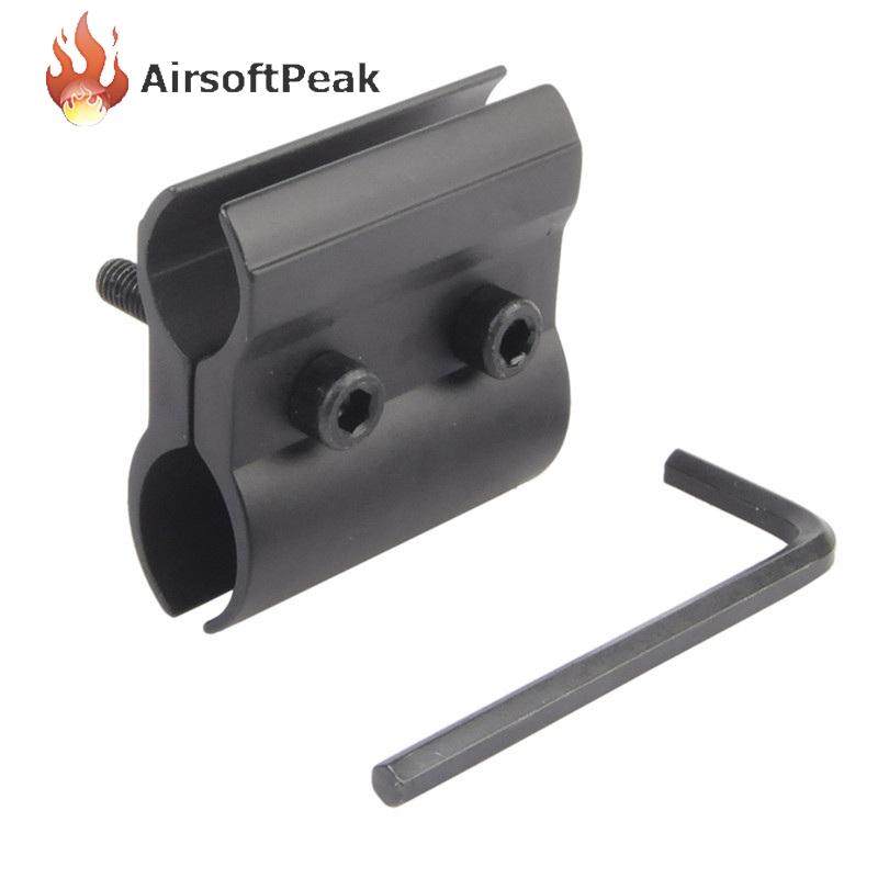 Tactical 12mm 13mm 2 Hole Flashlight Laser Scope Mount Military Gun/Rifle/Shotgun Flashlights Base Airsoft Gear Accessories^(China (Mainland))