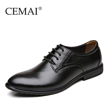 Hot Sale Fashion Leather Men Dress Shoes, Casual Brand Men Oxford, Business Genuine Leather Men Shoes, Oxford Shoes For Men(China (Mainland))