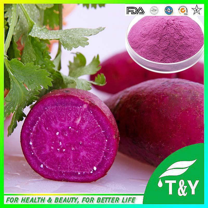colorant alimentaire extrait de plante couleur pourpre de patate douce poudre et patate douce couleur extrait - Prix Colorant Alimentaire