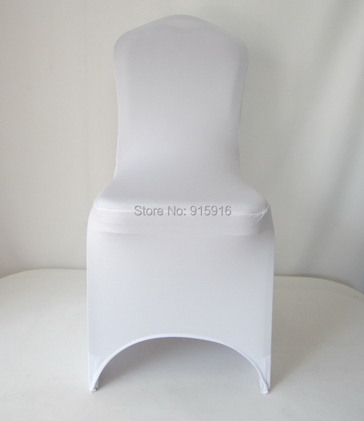 top sale in 2016 white spandex lycra chair cover for wedding