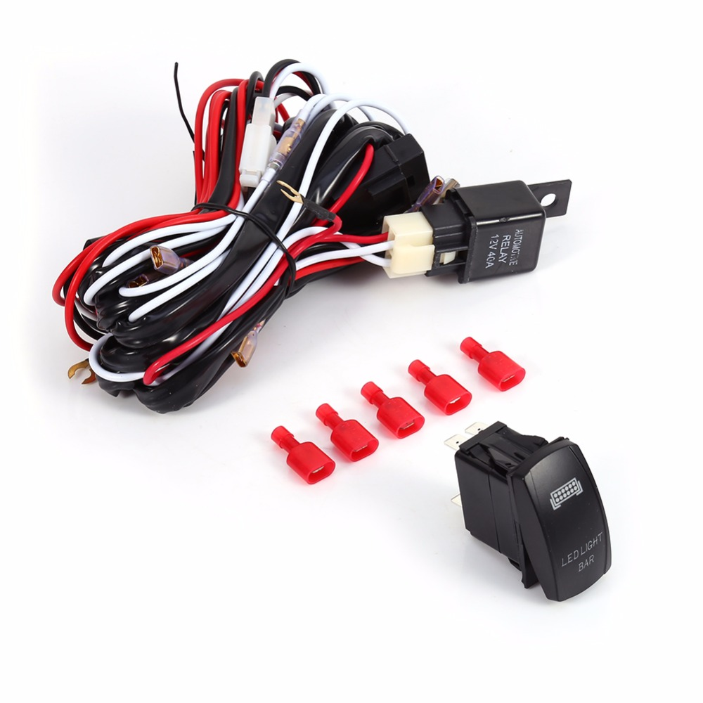 online buy whole car 20a relay relays from car 20a relay led light bar 0n off laser rocket car switch led 20a relay fuse wiring harness
