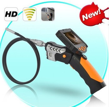 1M Dia 8.2mm Tube Snake Camera Endoscope Inspection Borescope DVR 8G+Flashlight