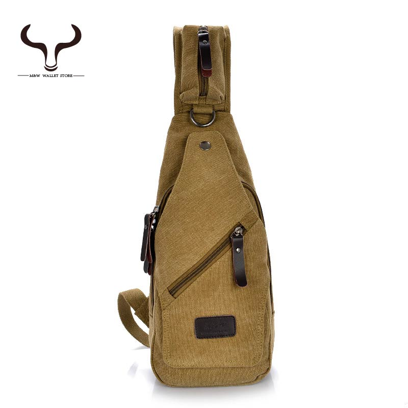 Fashion Canvas Girl and Men Chest Pack Preppy Style Shoulder Crossbody Messenger Bags Women Sling Bag XCMX/1202(China (Mainland))