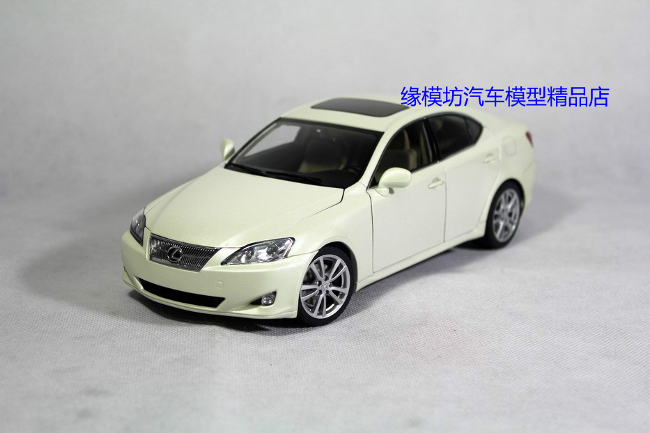 Rim mold workshop AUTOART 1:18 lexus IS350 pearly white special alloy car models(China (Mainland))