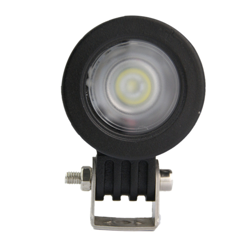 2x 10W Hot Sale Round Cree Led WORK LIGHT BAR FLOOD BEAM 1000 LUMENS FOR MINING INDUSTRY FORESTRY CAR STYLING(China (Mainland))