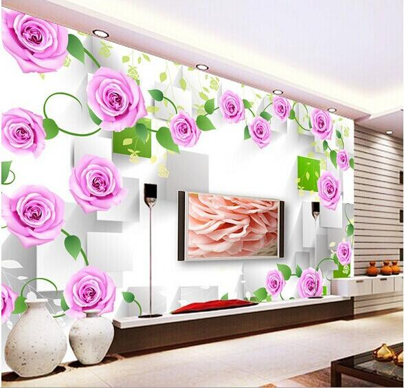 2015 1 sq m 3d nonwoven custom large mural wall ikea - Papel paredes ikea ...