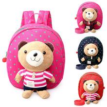Plush Cartoon Toys Backpack Preschool Candy Toy Bags School Bag Backpack Gift For Kids Mochila Infantil Children School Bag New(China (Mainland))