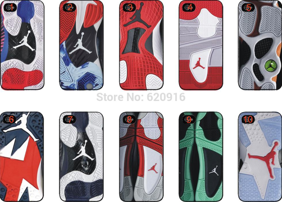 1s Jordan sole shoes hard back case cover iphone 4 4s 5 5s 6 plus galaxy s3 s4 s5 s6  -  yuncheng case store