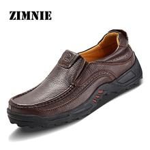 2016 Flats New Arrival Authentic Brand Quality Casual Men Genuine Leather Loafers Shoes Plus size 38-47 Handmade Moccasins Shoes(China (Mainland))