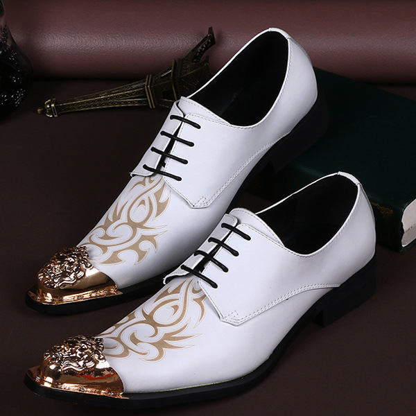 Men business shoes casual british style men oxfords carved white fashionable white leather shoes oxfords shoes<br><br>Aliexpress