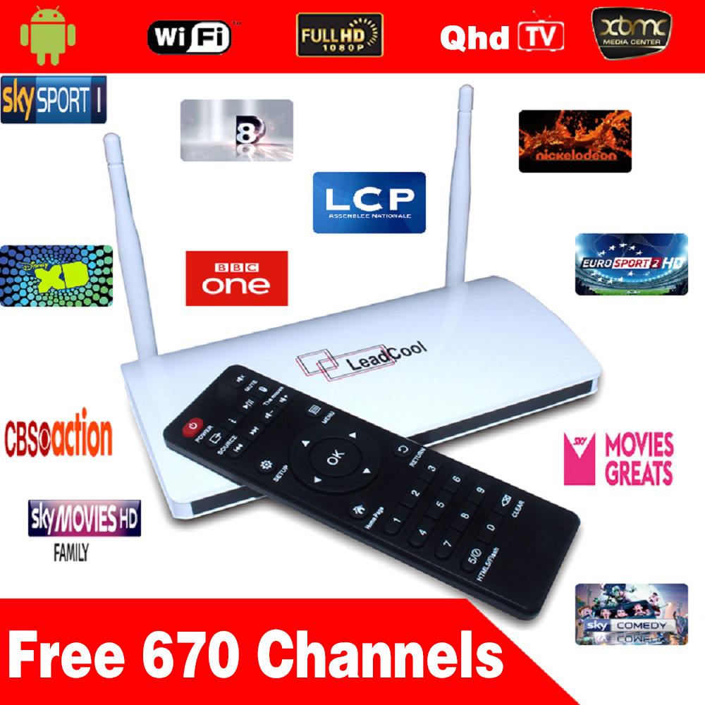 Arabic Iptv Box Leadcool Android Box +Three Months Qhdtv Iptv Account Iptv Box Europe Channels Arabic Channels Over 640 Channels<br><br>Aliexpress