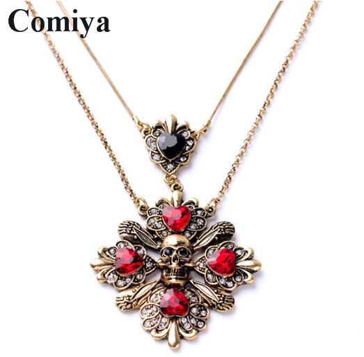 vintage cross charm pendants necklace 2015 comiya new design fashion summer styles women jewelry accessories choker necklaces(China (Mainland))