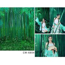Baby Background For Photo Studio Bamboo Grass Nature Backdrop