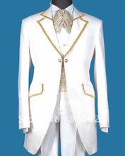 Custom Made White Tuxedo – slim fit