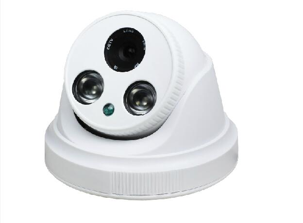 DIY Plastic IR Eyeball Dome Camera Casing Array LED Security Camera Case Indoor Video Surveillance CCTV Housing for Fixed Lens(China (Mainland))